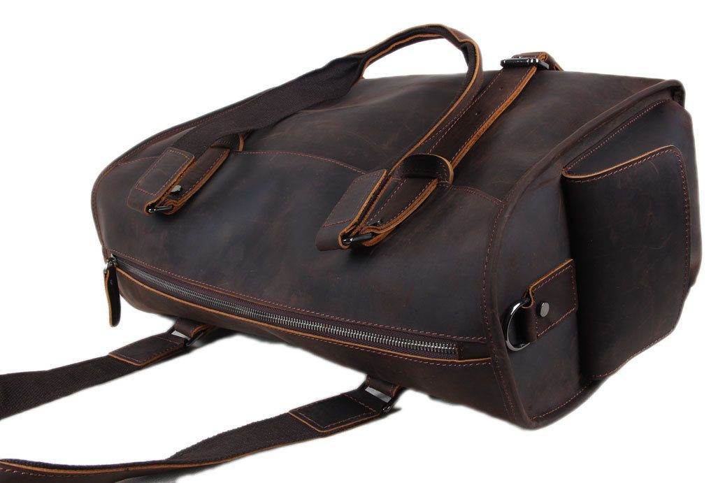 Extra Large Genuine Leather Travel Bag e2566d90fe2cb