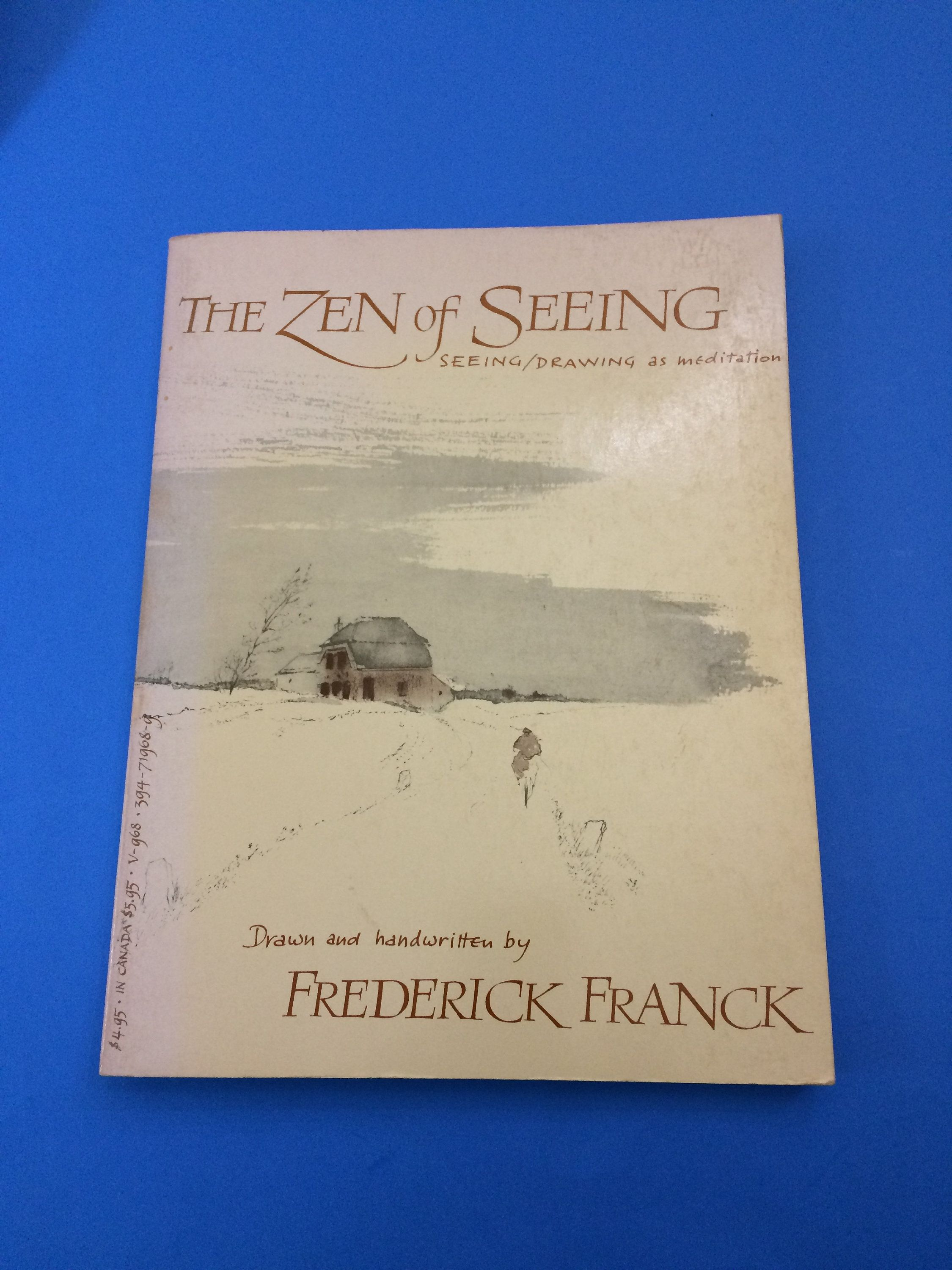 1973 The Zen of Seeing / Drawing as Meditation Book