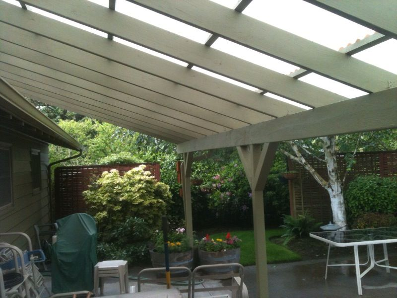 Gallery SkyLift Roof Riser Hardware Deck with pergola