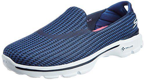 separation shoes 092b1 9cd3f Skechers Women s Go 3 Walking Shoe,Navy Blue,8.5 M US Skechers http