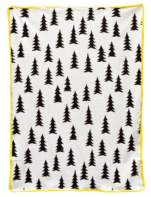 Fijn zacht dekentje van Fine Little Day voor in de wieg of te gebruiken als omslagdoek. Staat erg mooi in de kinder- of babykamer!
