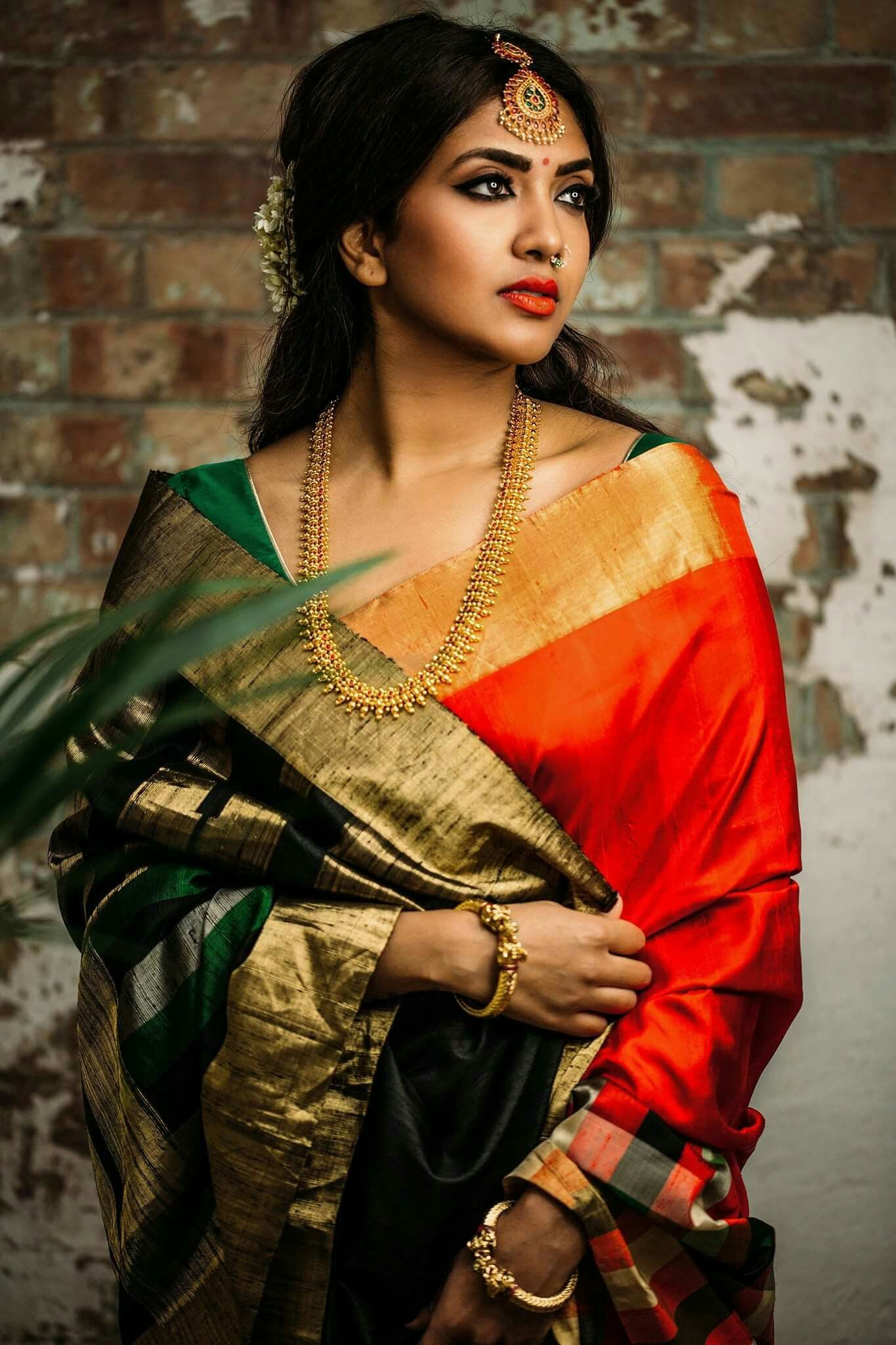 Bengali Style  Modern Saree, Saree Wedding, Saree-5250