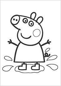 Free Peppa Pig Coloring Pages Peppa Pig Colouring Peppa Pig Coloring Pages Unicorn Coloring Pages