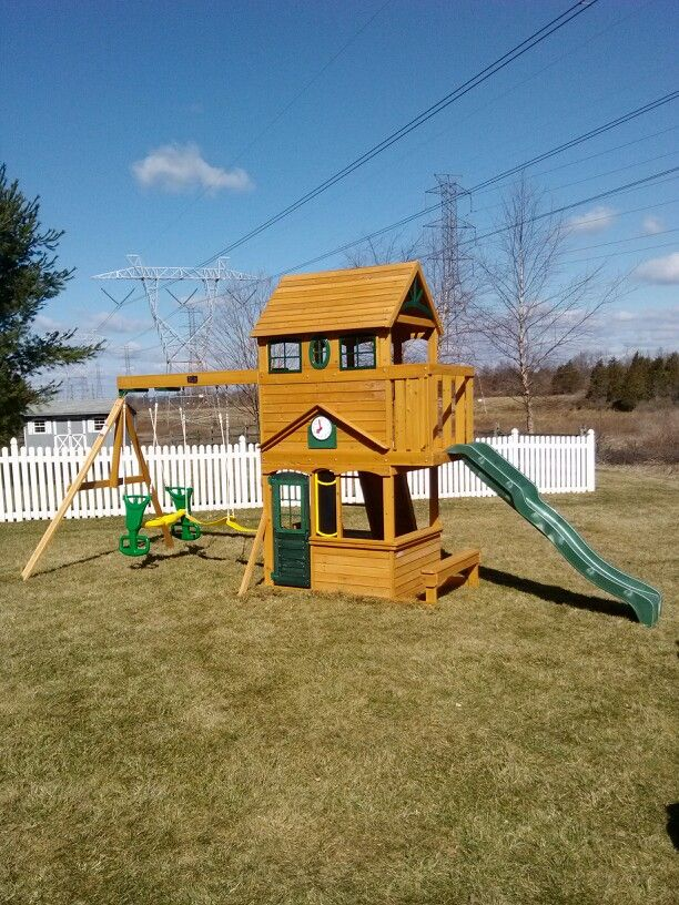 Charmant Big Backyard Ashberry Playset From Toys R Us Installed In Hillsborough, NJ.