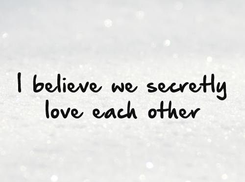 Secret Love Quotes U0026 Sayings