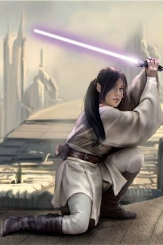 Allana Djo Solo Was The Daughter Of Jedi Knight Jacen Solo Jedi