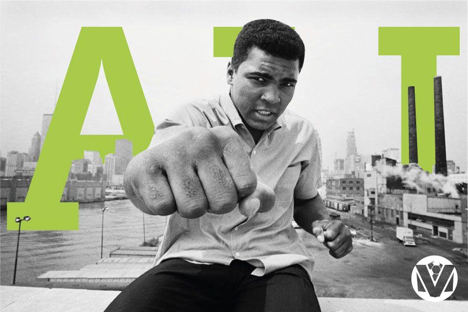 """""""Nossa homenagem à lenda do boxe, àquele que voava como uma borboleta e picava como uma abelha.  Muhammad Ali * 17/01/1942 + 03/06/2016"""""""