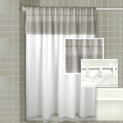 One Allium Way Santos All In One Shower Curtain Set Shower