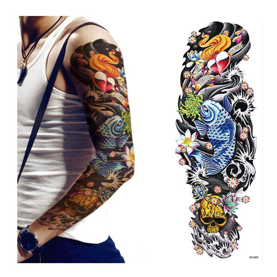 Temporary Tattoos ebay Fashion Sleeve tattoos