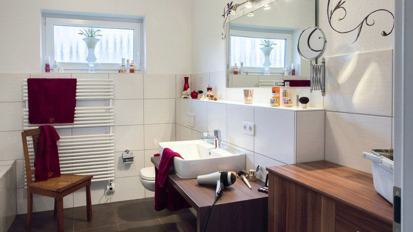 Bäder, Familienbad, Wellness Oase, Dusch WC   SchwörerHaus   Schwörer haus, Haus, Wc mit dusche
