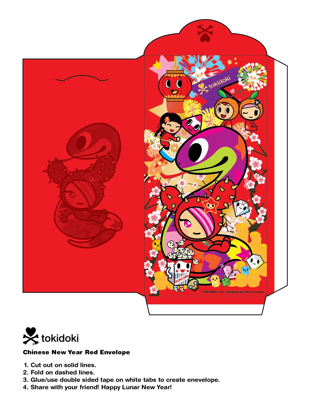 Chinese New Year To Celebrate The Of Snake Weve Created