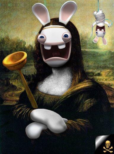 James Bond Iphone Wallpaper The Mona Crazy Rabbit Crazy Rabbit In 2018 Pinterest