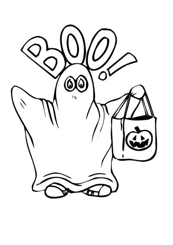 Dibujos para Colorear Halloween 2 | Dibujos para colorear para niños ...
