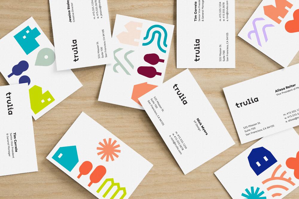 Brand New New Logo And Identity For Trulia By Design Studio Word Mark Logo Identity Logo Visual Identity Design