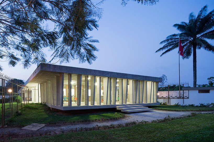LOCALARCHITECTURE adds concrete extension to swiss embassy in ivory coast https://t.co/3mk2GTA6Q5 via PaigeStainless