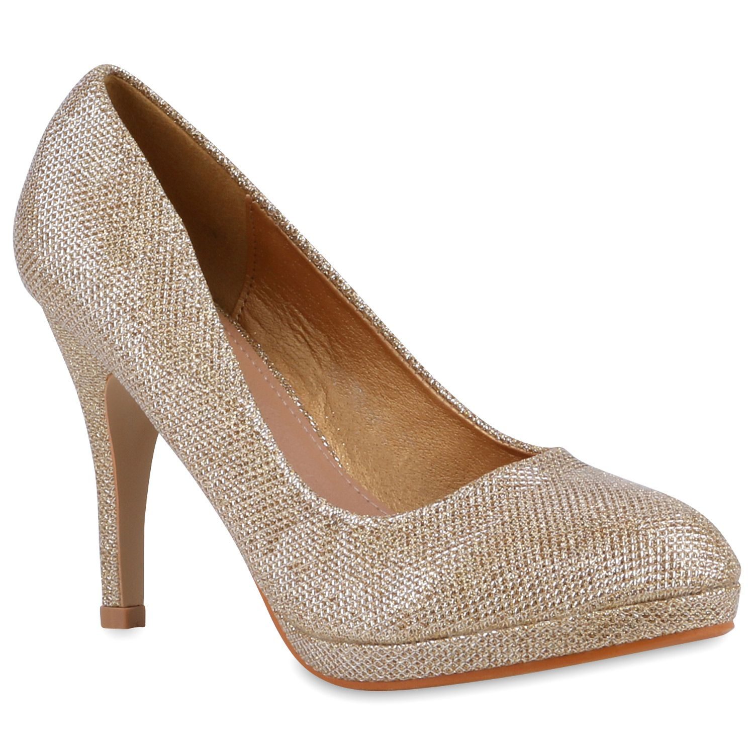 9328505f1ef9 Damen Pumps Klassische Pumps Gold  pumps  damenschuhe  fashion ...