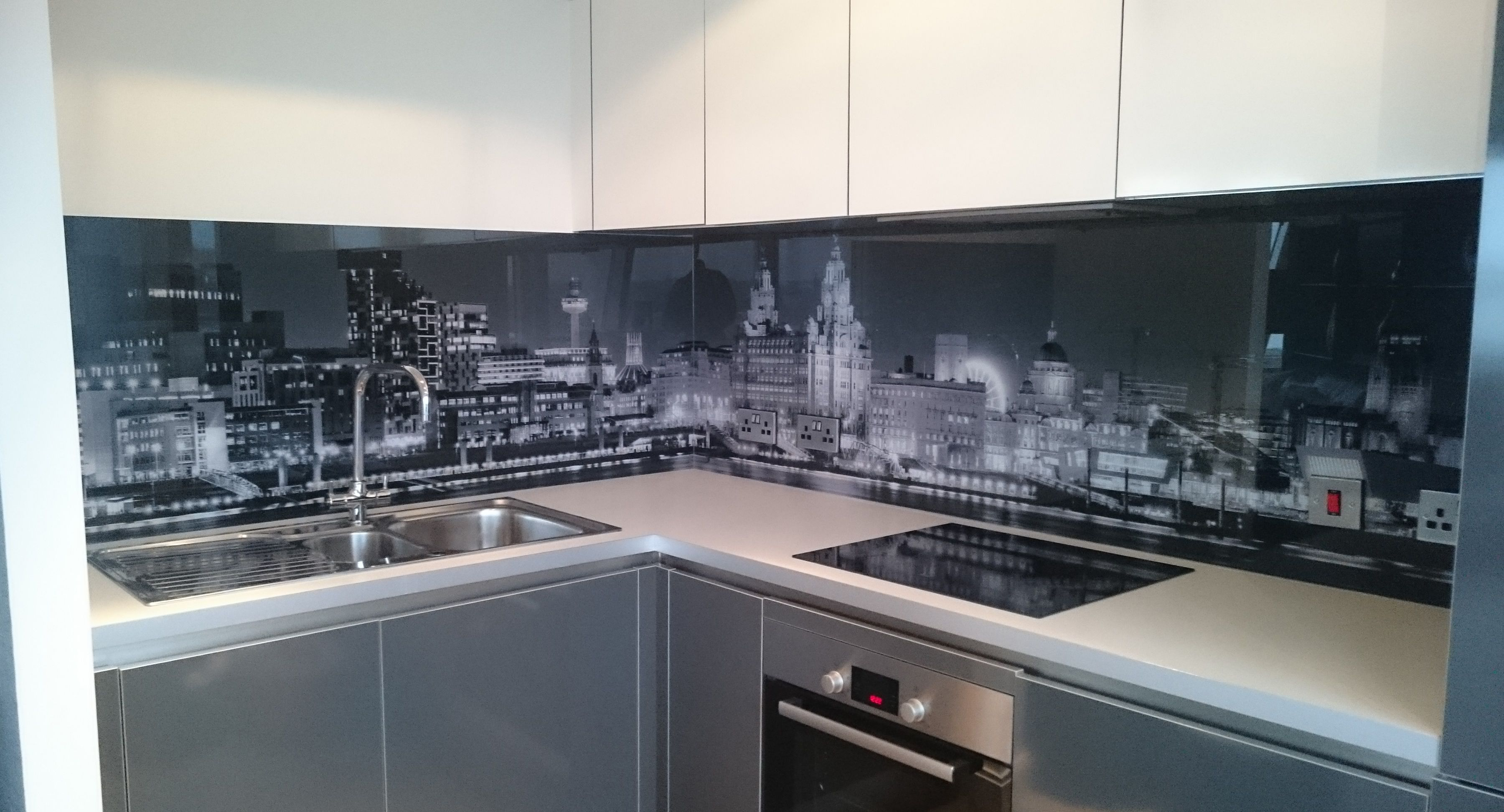 Modern Kitchen Designs Buy Online Printed Glass Splashbacks In 2019 Splashback Ideas