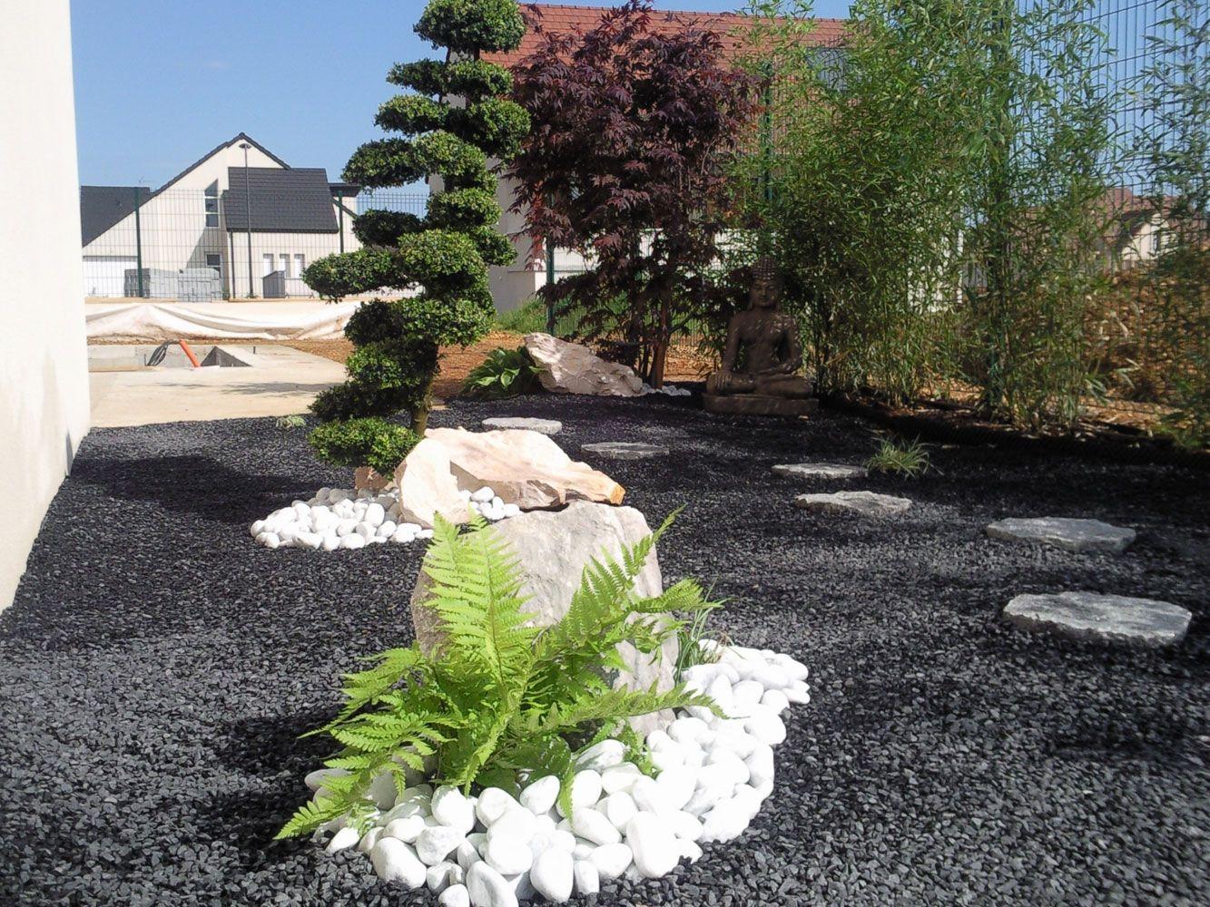 31  Le Élégant Jamais de Jardin Paysager Zen