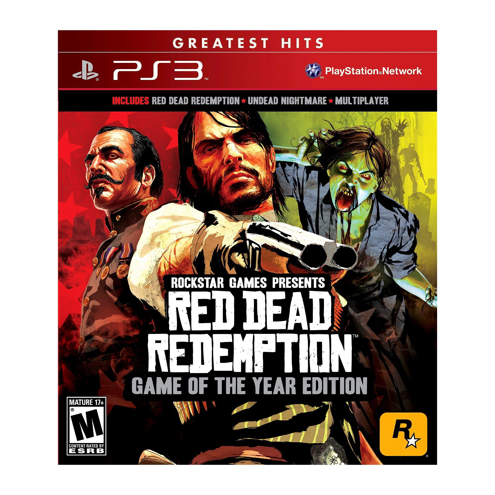 Red Dead Redemption Game Of The Year Edition Playstation 3 Red
