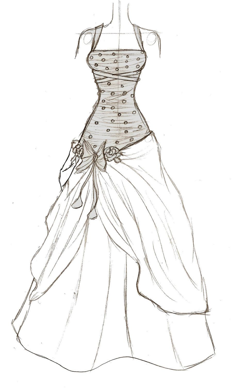 1782e3d8e71c5 dress designs drawings - Google Search