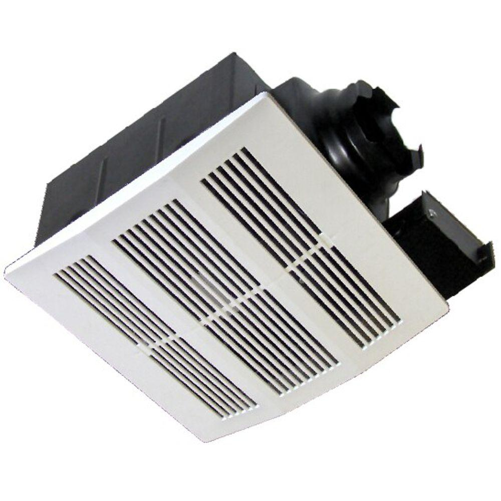 Jag Plumbing Products Extremely Quiet 210 Cfm Ceiling Mount Exhaust Fan Energy Star White Bathroom Exhaust Fan Mold Prevention Mold In Bathroom