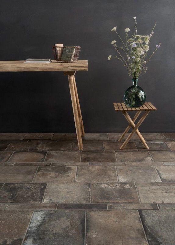 Casa Oscuro Porcelain Mandarin Stone Modern Kitchen Tile Floor Modern Kitchen Flooring Stone Tile Flooring