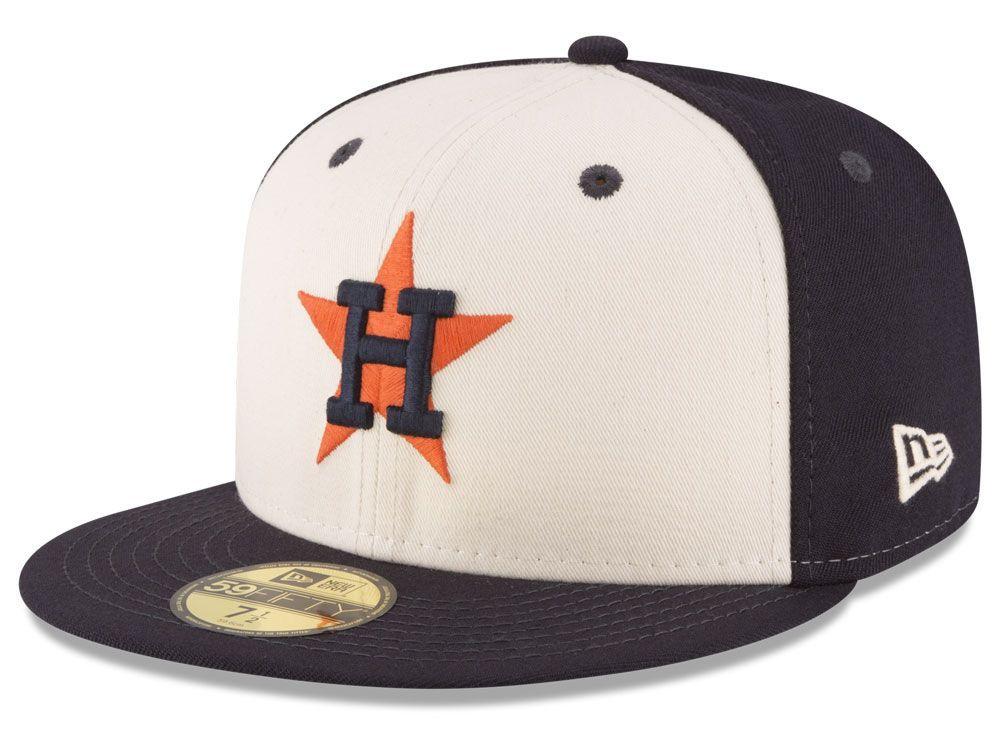 Houston Astros New Era MLB Vintage Throwback 59FIFTY Cap