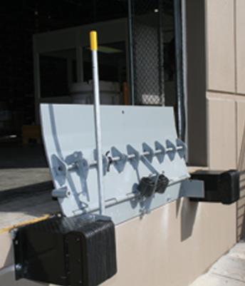 Naples Serco Air Powered Dock Leveler Garage Doors For