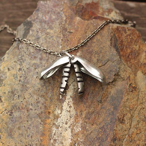 Mitochondria Necklace - Science Jewelry