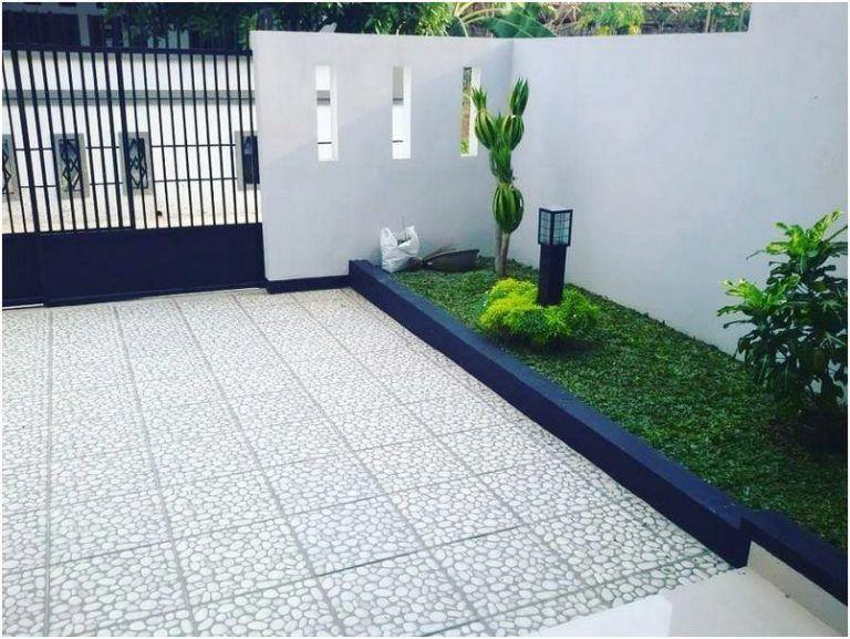 Gambar Konsep Taman Depan Rumah Minimalis Sederhana Modern