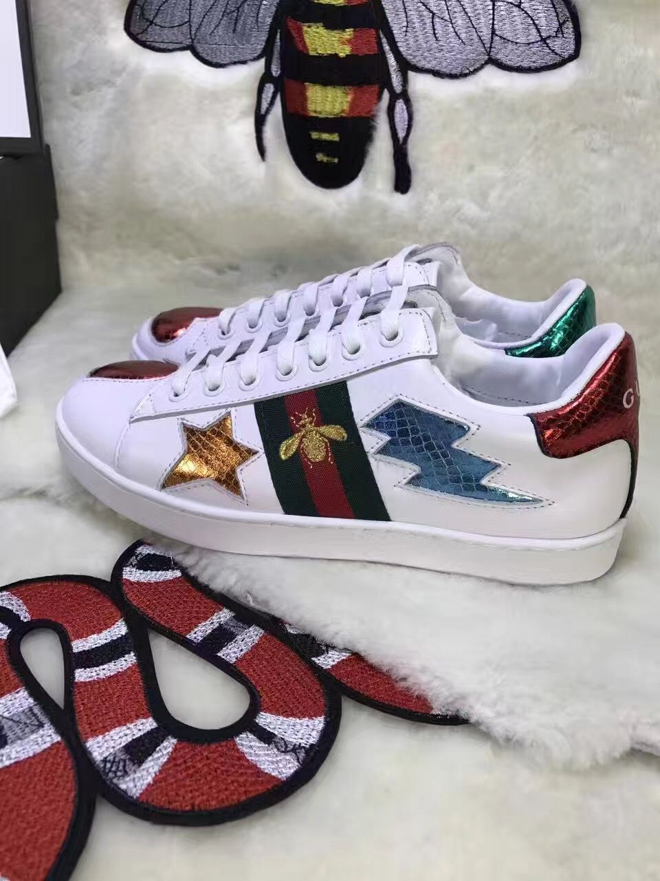 005c0208ab7940 Pin by Luxury Shoes Bags Supplier Charles on Gucci lady shoes in ...