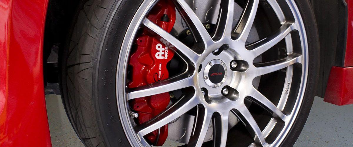 AP Racing Radi-CAL by STILLEN Installed on Car | AP Radi-CAL