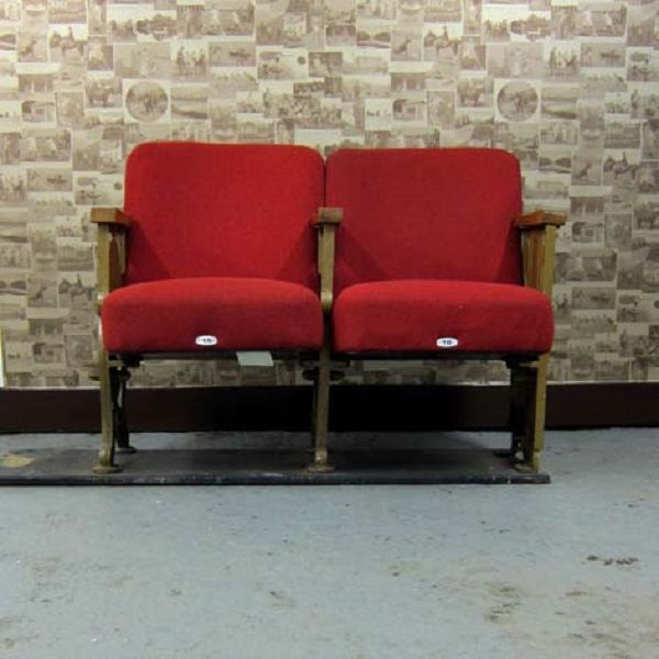 Trends: Vintage Cinema Seats | Homegirl London   Vintage Cinema Seats From  Reclaimed Retro
