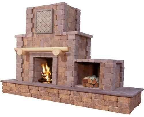 Excellent Cantwell Fireplace Price Includes Landscape Block Detailed Home Interior And Landscaping Ymoonbapapsignezvosmurscom