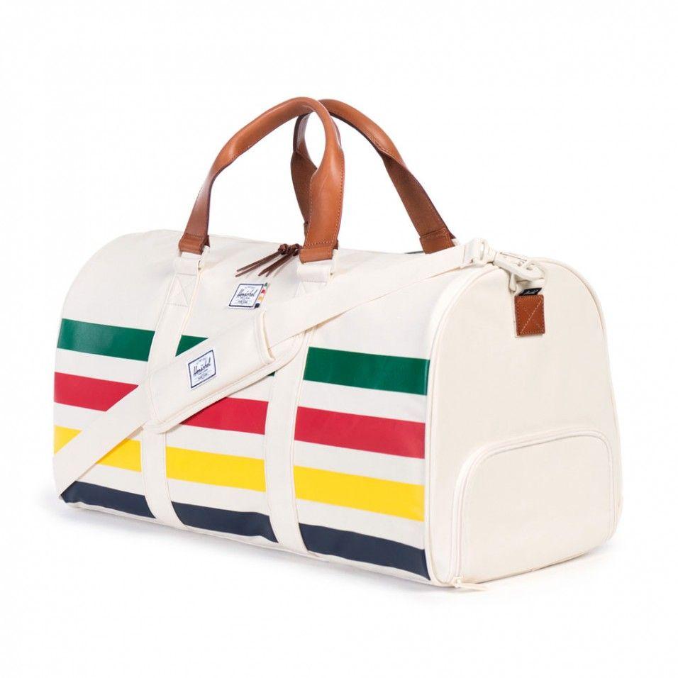 6417a69ab48e Herschel Supply Co. Novel HBC offset stripe duffle bag - The Herschel  Supply Co - Bags   Travel - Gifts   Home