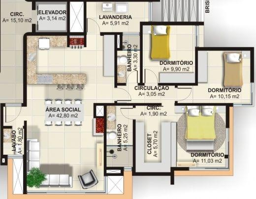 Large Bedroom Arrangement Ideas