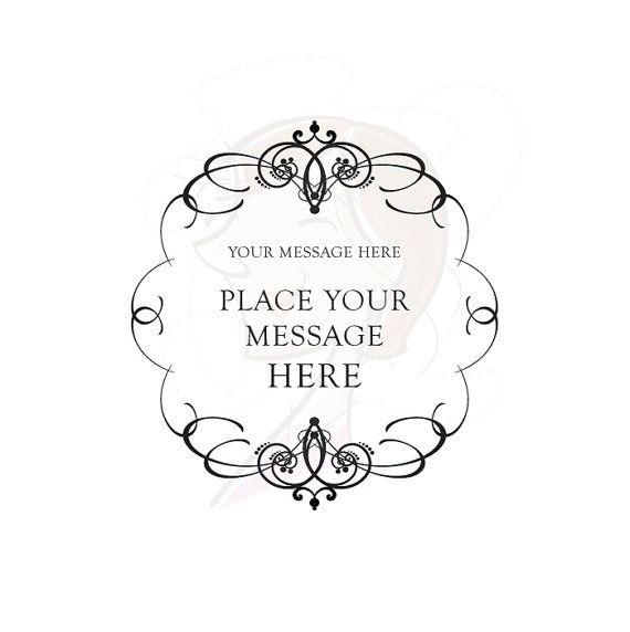 Elegant Calligraphy Wedding Invitation Clip Art Clipart DIY Vintage Engagement  Graphics Designs Scrapbook Embellishment Frame INSTANT DOWNLOAD