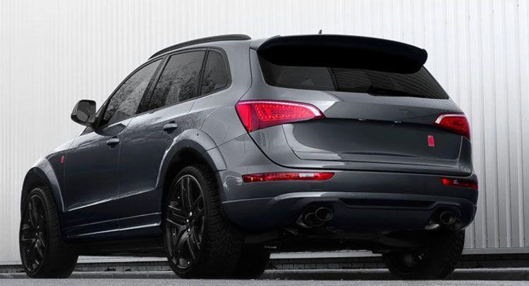 Khan Makes Audi Q5 More Macho Via Wide Track Body Kit Carscoops Audi Q5 Audi Audi Wheels