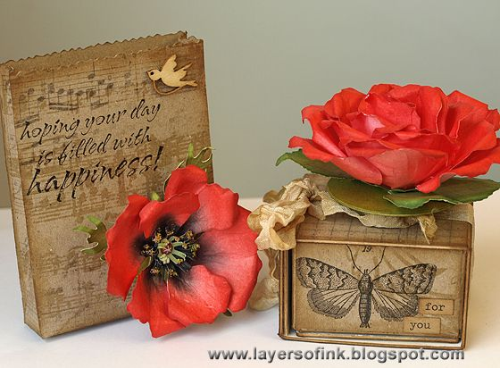 Created by Anna-Karin for the Simon Says Stamp and Show Challenge to use Kraft on your Creation. June 2013