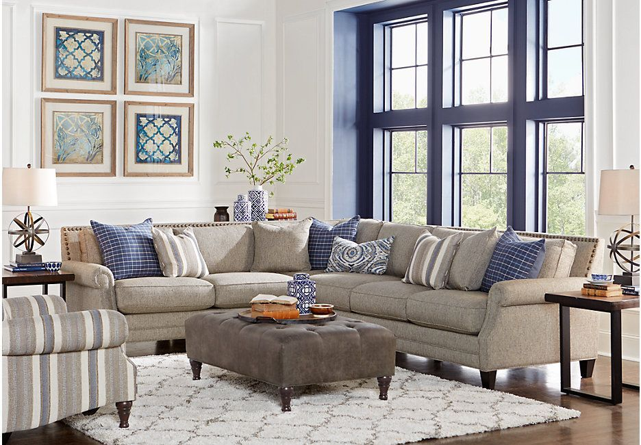 Best Piedmont Gray 3 Pc Sectional Living Room From Furniture 640 x 480