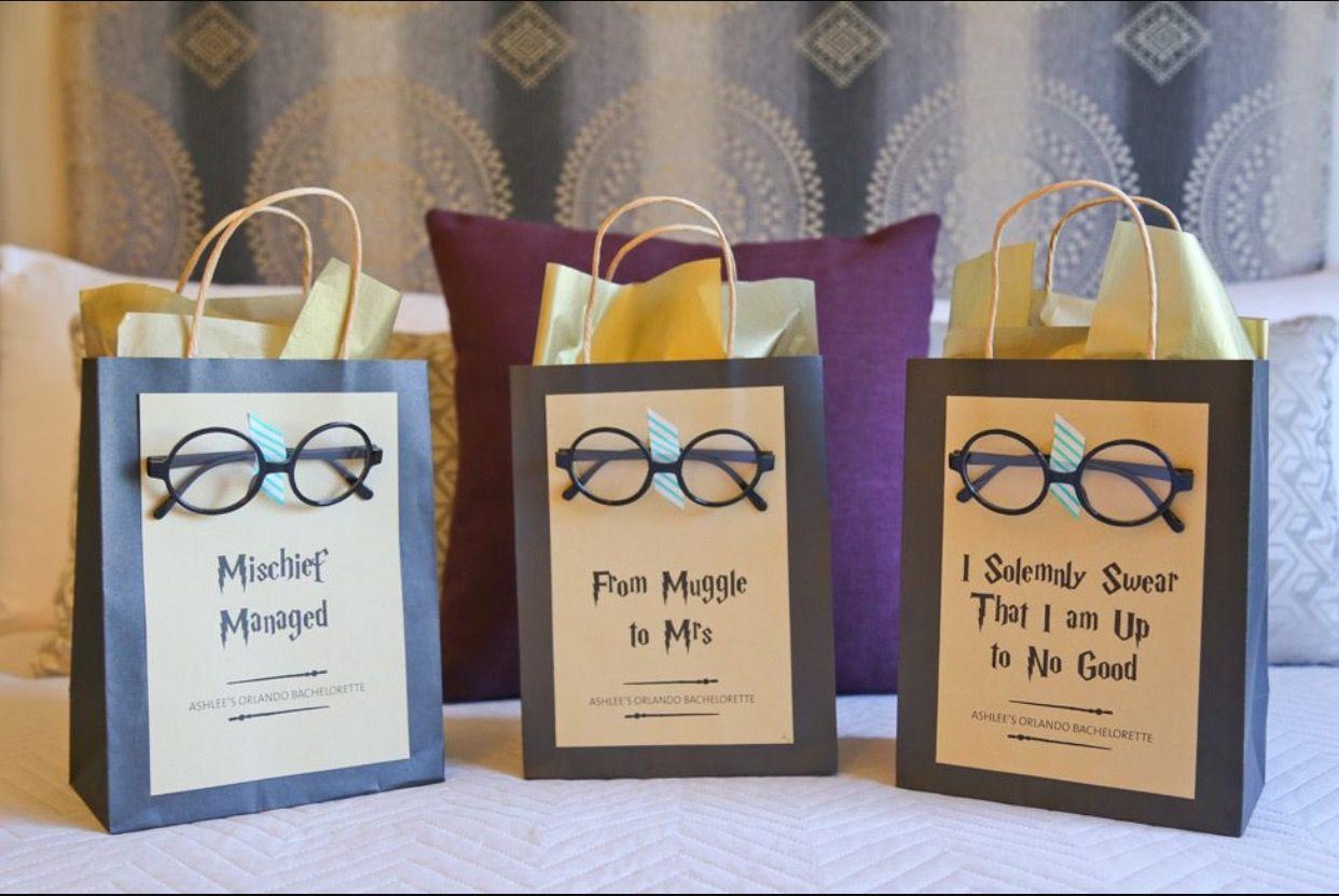 Parti de sacs Harry Potter//Hogwarts Inspiré 8 Pack.