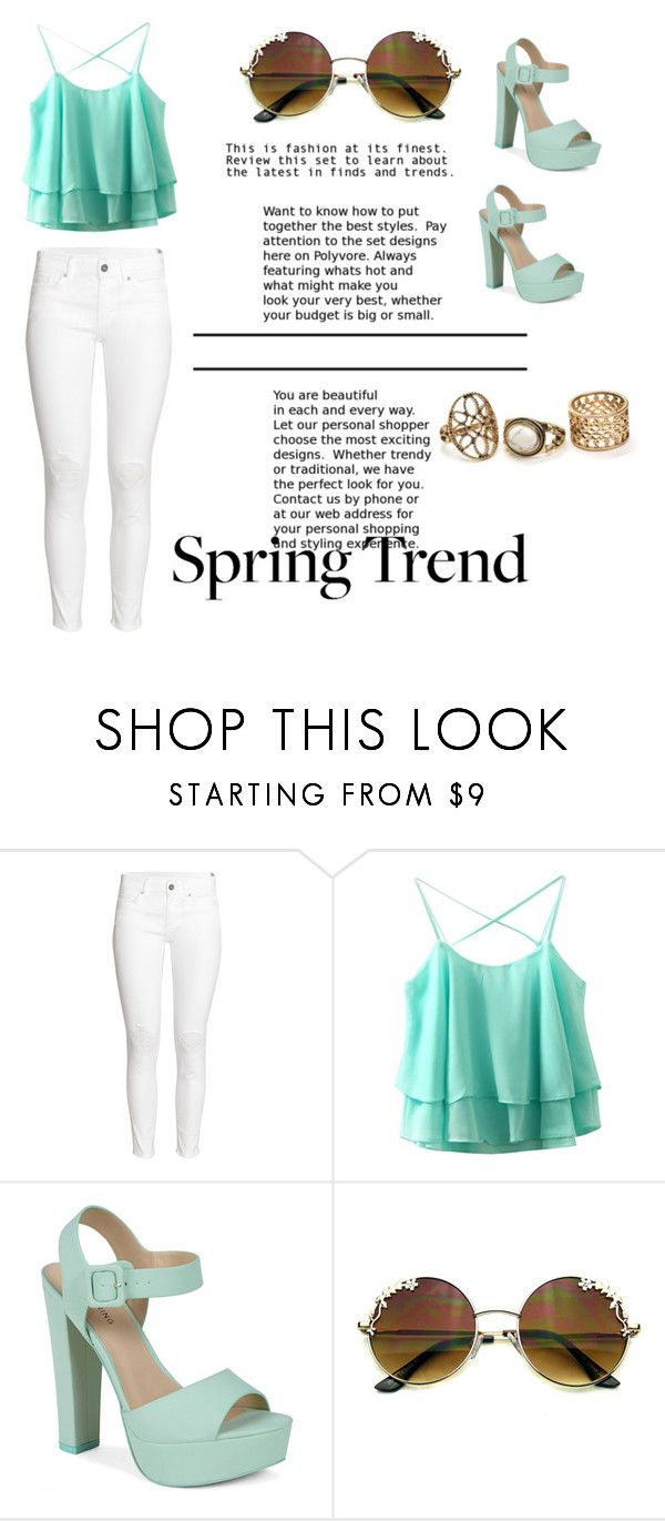 """""""spring trend"""" by monni-go-al ❤ liked on Polyvore featuring H&M and Call it SPRING"""
