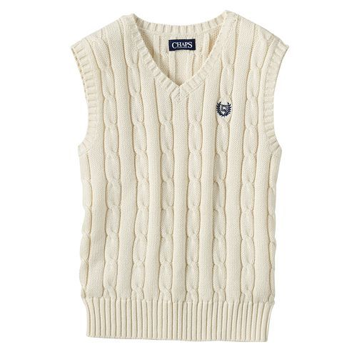 $15. kohls. james. Toddler Boy Chaps Classic Cable Knit Sweater ...