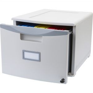 Single Drawer Filing Cabinet With Lock