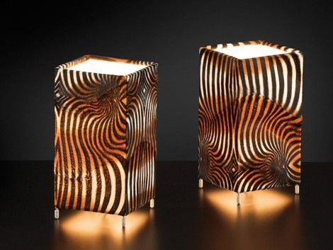 Animal Print Lamps From Citylux
