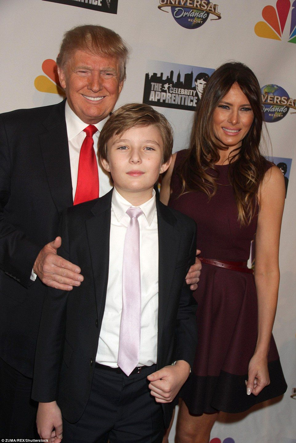 Pin On President Trump And First Lady Melania Barron Trump