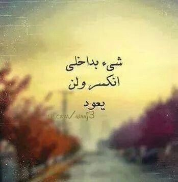 شئ بداخلي انكسر ولن يعود Cool Words Words Quotes Arabic Quotes