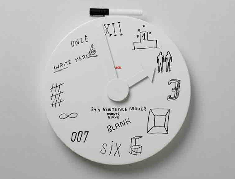 Martí Guixé - guixe.com - PRODUCT   Alessi   Wall Clocks
