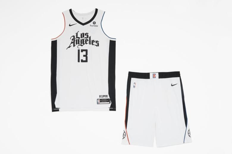 Nike Unveils 2019 20 Nba City Edition Uniforms Pursuit Of Dopeness In 2020 Los Angeles Clippers Athletic Tank Tops Jersey