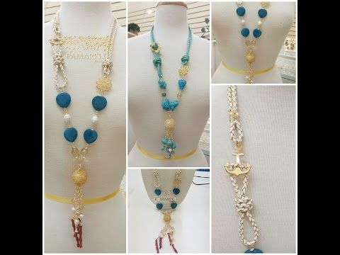 youtube collares de moda